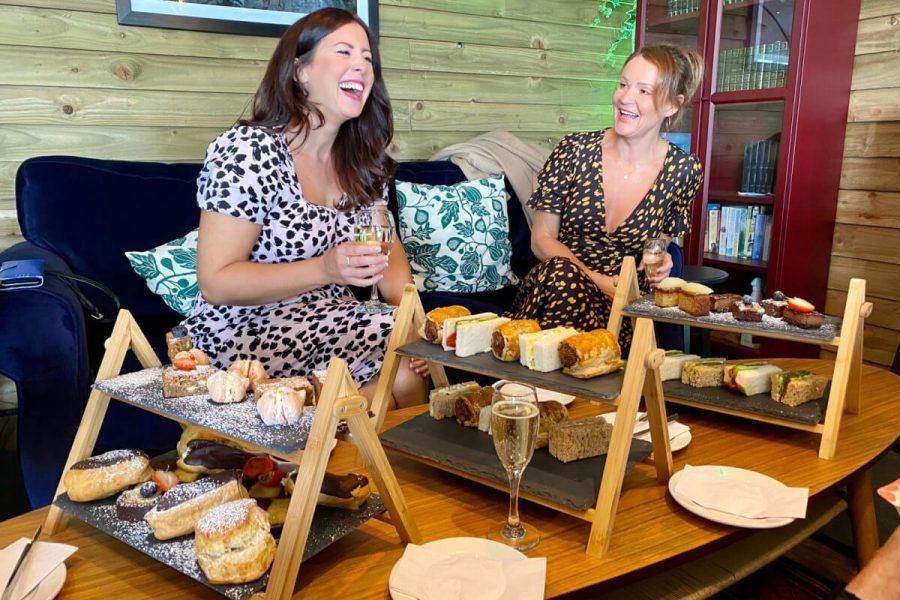 Women Enjoying Afternoon Tea